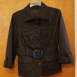 Limited 3/4 Sleeve Belted Jacket M